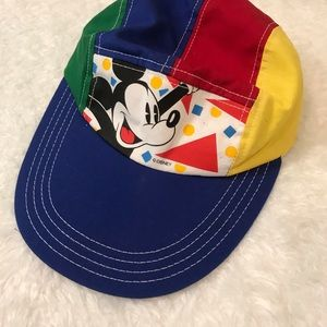 Disney Vintage 5 panel Hat Mickey Mouse